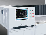 Máquina de cristal triaxial horizontal del ribete del CNC para la decoración de cristal