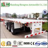 Semi Aanhangwagen van de Container van de Lading van de Fabrikant van China Flatbed 40FT