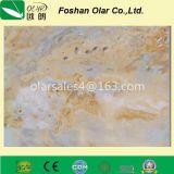 Panneau décoratif pour traitement UV en fibre ciment