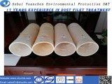 Bolsa de filtro de coletor de poeira de fibra acrílica para repelente de água e óleo fornecendo amostras grátis