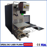 금속 물자를 위한 휴대용 유형 섬유 Laser 표하기 기계