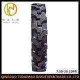 고품질 압축 공기를 넣은 7.50-16 의 변죽을%s 가진 7.50-20 농업 타이어
