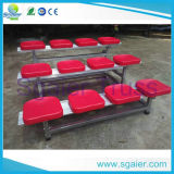 Легкий Seating Bleacher перехода 3-Row алюминиевый