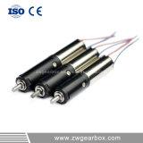 6mm de alto par a baja velocidad pequeña caja de velocidades con motor de CC