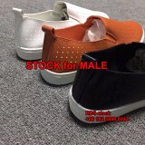 3 Dólar sapatos de Homem Stock com material de PU