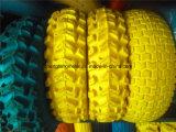 트롤리를 위한 외바퀴 손수레 타이어 PU 거품 바퀴