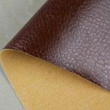 Couro impermeável resistente da mobília do plutônio do Synthetic da abrasão