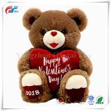 De Pluche van de Fabriek BSCI & Gevuld Speelgoed met Hart voor de Dag van de Valentijnskaart