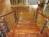 304 pêches à la traîne en bois d'escalier de balustrades de tube d'usure
