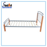 Muebles de dormitorio cama simple acero moderno