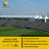 PVCカバーアルミニウムフレームのテニスのテント