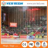 広告のためのフットボールまたはスポーツの境界の競技場スクリーン