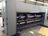El Flexo del borde delantero de cartón de 4 colores de asignación de fechas y troqueladora de impresión