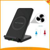Qi Wireless cargador rápido de 10W para el iPhone8/Plus/X Samsung S6+, S7 S8 Todos los teléfonos móviles Qi-Enabled