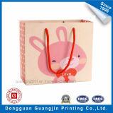 공상 분홍색 쇼핑을%s 색깔에 의하여 인쇄되는 서류상 선물 부대