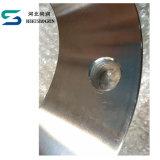 Type 01 bride de plaque d'AISI SS304 FF Dn125 Pn10 d'en 1092 pour des garnitures de pipe