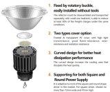 고품질 최고 가격 110lm/W 알루미늄 반사체 실내 100W 150W 200W 높은 만 LED 발광체 200 와트 Dimmable