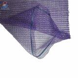 2018 PE Raschel высокой прочности упаковки лука сетчатых мешков