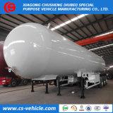 56m3 de gas propano gas Amoniaco 3 Ejes remolque cisterna 56000L camiones de gas de cocina de gas 28toneladas Precio