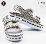جميلة نساء خف [لد] أحذية خفيفة