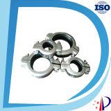 Grampo de liberação rápida de tubos de aço inoxidável flexível de alta pressão