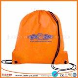 Dom futebol Nylon Saco para roupa suja mochila Promocional Bag