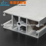 Profil en aluminium argenté de soufflage de sable