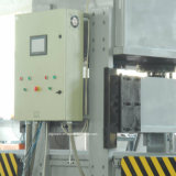Espuma de PS hidráulico de caja de alimentos fuera de la máquina de corte