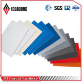 Panneau de plafond en aluminium de dépliement argenté d'Ideabond PVDF (AF-408)