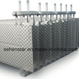 産業廃棄物の熱回復熱交換器