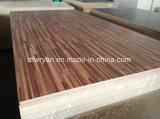 Scheda di legno del MDF della melammina del grano