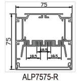 perfil del aluminio LED de 75X75m m para la luz de tira del LED