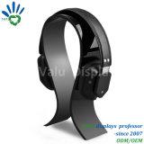 Noir personnalisée en usine forme en U Plan d'examen de l'acrylique casque Titulaire d'affichage/support pour casque en plexiglas
