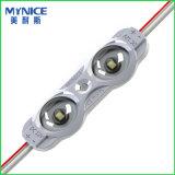3535 módulos do diodo emissor de luz da iluminação de borda 2.8W para caixa leve frente e verso