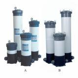 Cartouche de carter de filtre à eau en PVC pour la filtration de l'eau