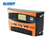 Suoer 12V 24V 10A PWM Solarladung-Controller-Solarcontroller (ST-C1210)