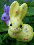 Coniglio bello Pasqua della decorazione con The-014
