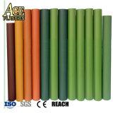 خضراء [بفك] [شيت فيلم] صلبة بلاستيكيّة لأنّ اصطناعيّة [كريستمس تر] ورقة ومرج