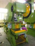 A imprensa de potência do C-Frame da tonelada J23-10, imprensa mecânica de J23-10t, máquina de perfuração 10ton mecânica, 10 toneladas pressiona a máquina mecânica