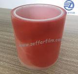 Windowsの表面の保護のための印刷された映像が付いているオレンジフィルム
