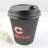 Eco-Friendly бумажные стаканчики напечатанные логосом устранимые, бумажный стаканчик кофеего с крышкой