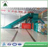 Pressa per balle idraulica automatica di grande capienza per la pianta di riciclaggio