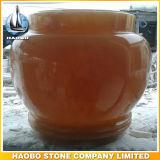 Urns de mármore de pedra naturais da cremação