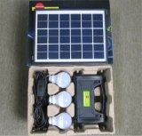 Luz de lanterna Solar painéis solares de 5W 3W Lâmpada LED 4Ah Bateria