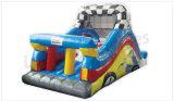 膨脹可能なスライダ、城、子供の運動場のために跳ぶ跳ね上がり