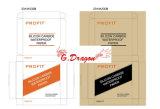 Caixa forte das caixas do cartão de Removalist da dobra movente do dobro por muito tempo (CT1003)