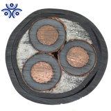 12/20kv Isolados em XLPE cobre fios de aço fina revestida de PVC Cabo de cobre submarina