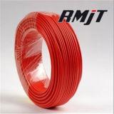 1.5 Milímetro quadrado do fio flexível do cabo elétrico da isolação de cobre do PVC do núcleo