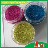 Poudre de paillettes de couleur pour le tissu de fournisseur