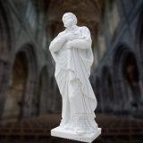Scultura bianca naturale T-6983 della statua di marmo